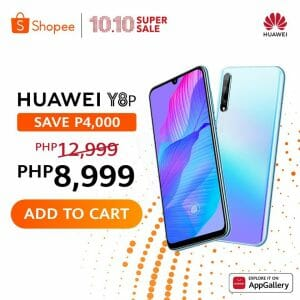 Huawei - 10.10 Sale: Enjoy Up to ₱13,000 Off at Lazada and Shopee