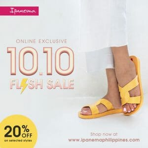 Ipanema - 10.10 Sale: 20% Off on Selected Styles