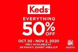 Keds - Everything 50% Off at SM Makati