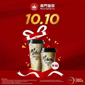 Macao Imperial Tea - 10.10 Deal: Buy 1, Get 1 for ₱10