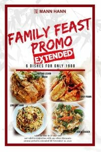 Mann Hann - Extended: Family Feast Promo for ₱1,988