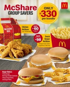 McDonalds - McShare Group Savers for ₱330