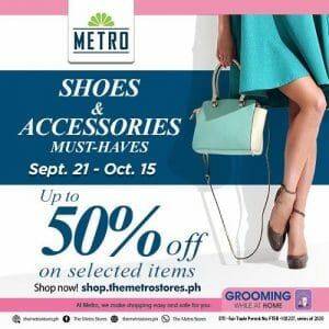 The Metro Stores - Up to 50% Off on Selected Shoes and Accessories