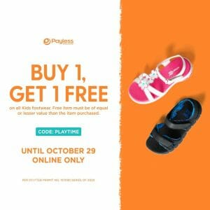 Payless - Buy 1, Get 1 FREE on Kids Footwear