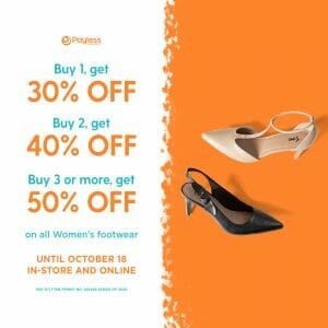 Payless - Get Up to 50% Off on Women's Footwear