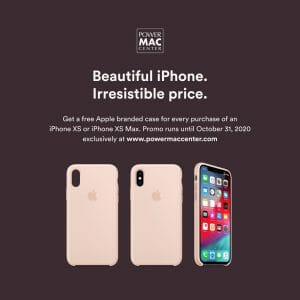 Power Mac Center - FREE Apple iPhone Case For Every Purchase of iPhone XS or XS Max
