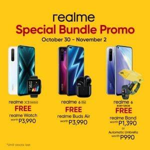 Realme - Get a FREE Companion Worth ₱3,990 When You Purchase Any Realme X3 Super Zoom, 6 or 6 Pro