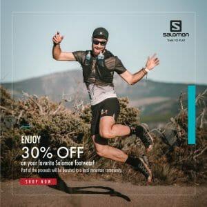 Salomon - Up to 30% Off on Footwear