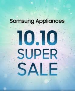 Samsung - 10.10 Sale: Get Up to 25% Off on Digital Appliances