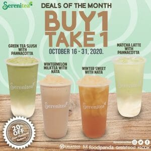 Serenitea - Buy 1, Take 1 and 20% Off Deals