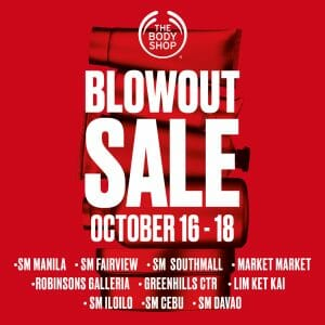 The Body Shop - Blowout Sale: Get Up to 50% Off Selected Items