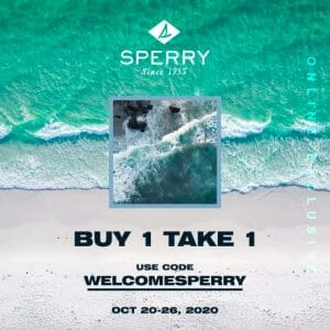 The Playground Premium Outlet - Buy 1, Take 1 on All Sperry Footwear