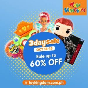 Toy Kingdom - 3-Day Sale: Up to 60% Off