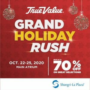 True Value Hardware - Grand Holiday Sale: Up to 70% Off Selected Items at Shangri-La Plaza