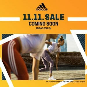 Adidas - 11.11 Deal: Get 50% Off on Selected Styles
