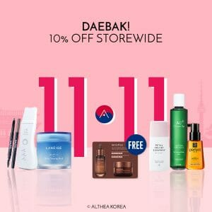 Althea - 11.11 Deal: Get 10% Off on Daebak Items