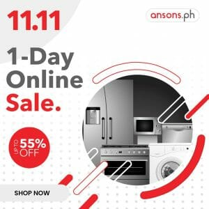Ansons - 11.11 Deal: Up to 55% Off + FREE Shipping Within Metro Manila