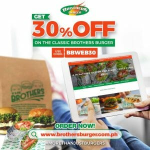 Brothers Burger - Get 30% Off on Classic Brothers Burger
