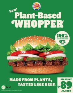 Burger King - The New Plant-Based Whopper is Here!
