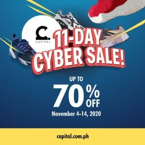 Capital PH - 11-Day Cyber Sale: Get Up to 70% Off
