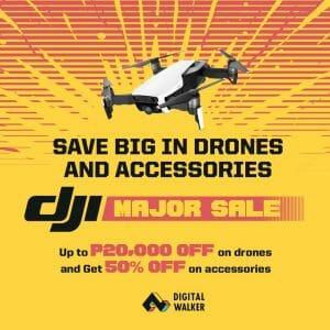 Digital Walker - DJI Drones and Accessories Major Sale