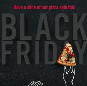 Domino's Pizza - Black Friday Sale: Get a Regular Pizza for ₱259 (Was ₱419) + FREE Cinnabites