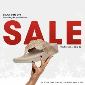 FitFlop - Enjoy 30% Off on All Regular Priced Items