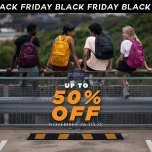 Jansport - Black Friday Sale: Up to 50% Off