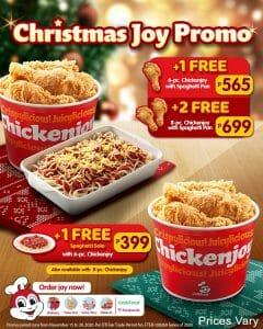 Jollibee - Christmas Joy Promo