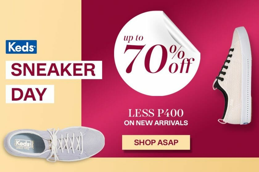 Keds - Sneaker Day: Get Up to 70% Off on Sneakers