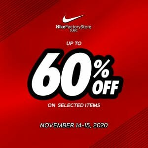 Nike Factory Store Subic - Up to 60% Off on Selected Items