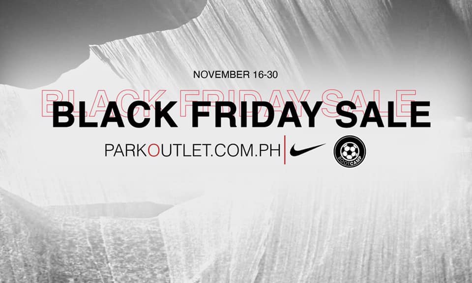 Nike Park Outlet - Black Friday Sale: Get Up to 70% Off on Selected Styles