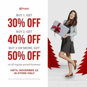 Payless - Get Up to 50% Off on Footwear