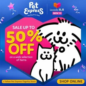 Pet Express - 11.11 Deal: Sale Up to 50% Off on Select Items