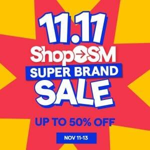 Shop SM - 11.11 Deal: Get Up to 50% Off