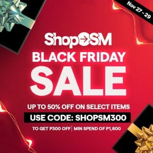 Shop SM - Black Friday Sale: Get Up to 50% Off on Select Items