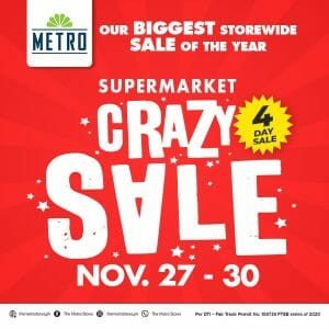 The Metro Stores - Supermarket Crazy Sale: Buy 1, Take 1, Discounts and Special Deals