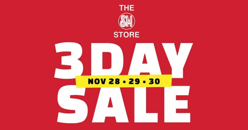 The SM Store - 3 Day Sale: Up to 50% Off on Selected Items