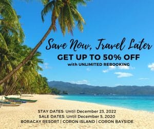 Two Seasons Boracay Resort - Get Up to 50% Off with Unlimited Rebooking