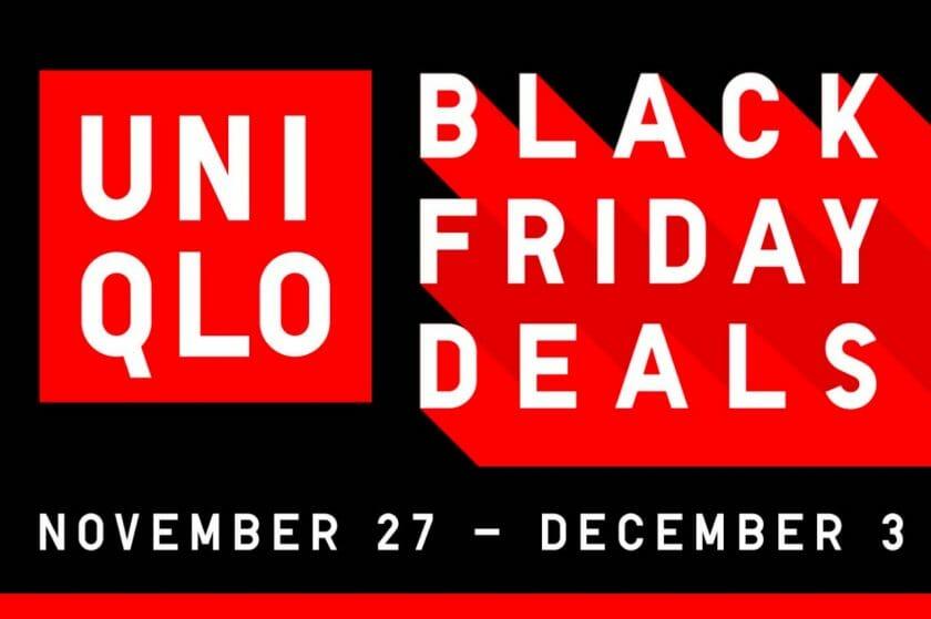 Uniqlo - Black Friday Deals + FREE Delivery