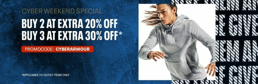 Under Armour: Cyber Weekend Deal: Get Up to 30% Off