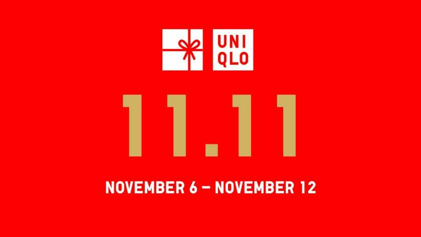 Uniqlo - 11.11 Deal: FREE Delivery With Minimum Purchase of ₱2,500