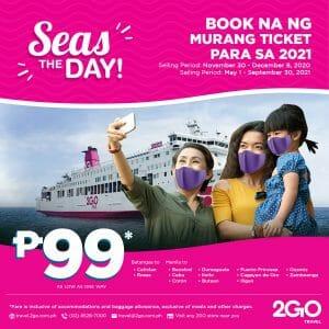 2GO Travel - Seas The Day Promo: Book ₱99 Tickets