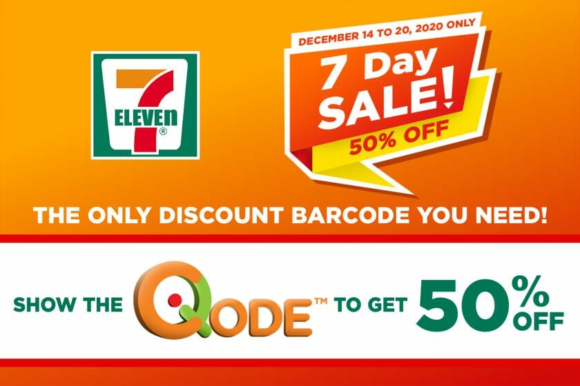 7-11 - 7 Day Sale: Get 50% Off with Q-Code