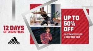 Adidas - 12.12 Deal: Up to 50% Off