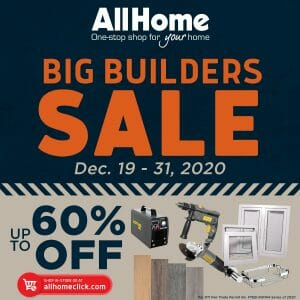 AllHome - Big Builders Sale: Get Up to 60% Off