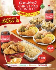 Chowking - Christmas Bundles Extended Until January 10