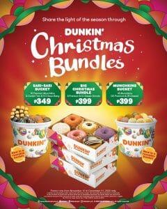 Dunkin' Donuts - Christmas Bundles Promo