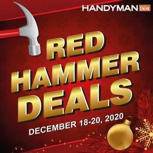 Handyman - Red Hammer Deals