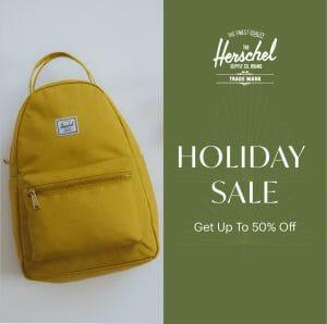 Herschel - Holiday Sale: Up to 50% Off